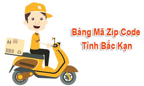Thông tin bộ Mã Bưu chính - Zip Postal Code Bạc Kạn mới nhất
