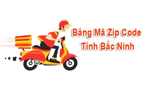Chi tiết bộ Mã Bưu chính Bưu điện Zip Code Bắc Ninh mới cập nhật