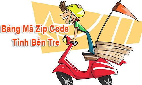 Thông tin Mã Bưu chính Bưu điện Zip Code Bến Tre mới cập nhật