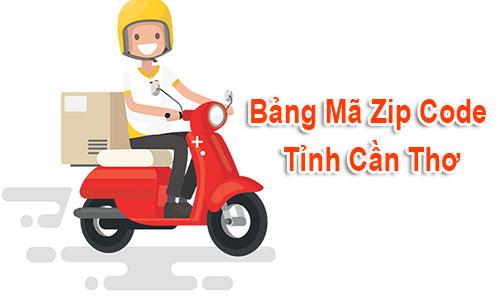 Thông tin bộ Mã Bưu chính - Zip Postal Code Cần Thơ