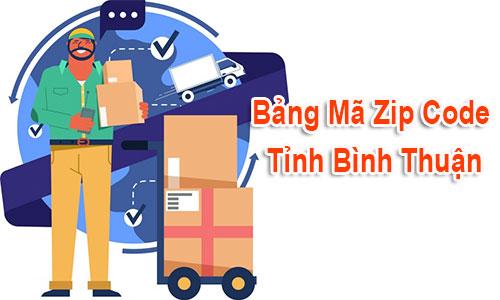 Thông tin Mã Bưu chính Bưu điện Zip Code Bình Thuận Phan Thiết