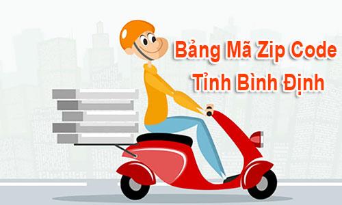 Thông tin Mã Bưu chính Bưu điện Zip Code Bình Định Quy Nhơn