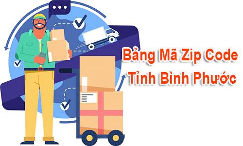 Thông tin Mã Bưu chính Bưu điện Zip Code Bình Phước