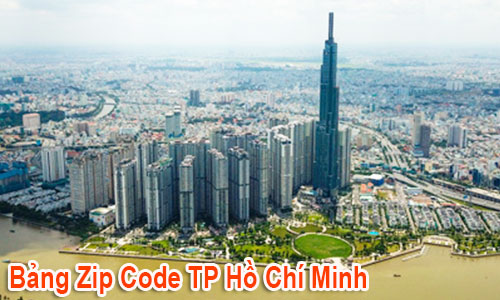 Chi tiết bộ Mã Bưu chính (Zip Postal Code) TP Hồ Chí Minh mới cập nhật