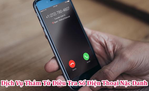 Dịch vụ thám tử tư điều tra số điện thoại nặc danh