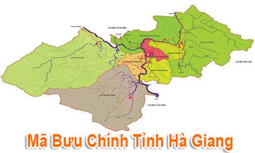 Thông tin Mã Bưu chính Bưu điện Zip Code Hà Giang mới nhất