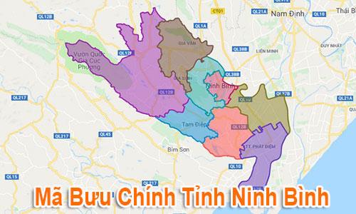 Thông tin Mã Bưu chính Bưu điện Zip Code Ninh Bình mới nhất