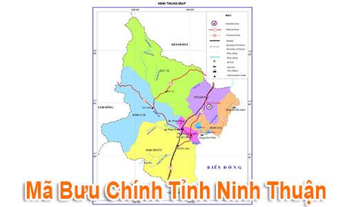 Thông tin Mã Bưu chính Bưu điện Zip Code Ninh Thuận mới nhất