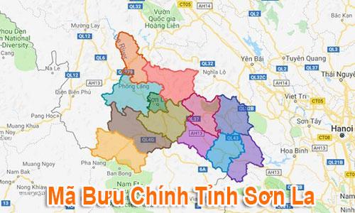 Thông tin Mã Bưu chính Bưu điện Zip Code Sơn La mới nhất