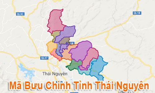 Thông tin Mã Bưu chính Bưu điện Zip Code Thái Nguyên mới nhất