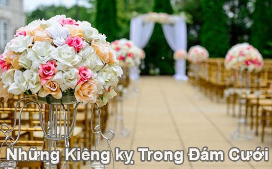 Những điều kiêng kỵ trong đám cưới kết hôn