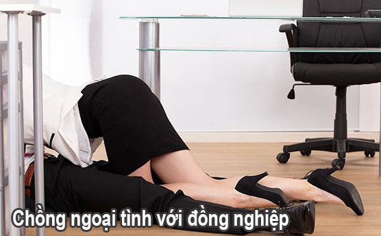 Chồng ngoại tình với đồng nghiệp tại nơi văn phòng công sở