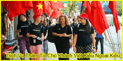 Dịch Vụ Thám Tử Cho Khách Việt Kiều Ngoại Kiều