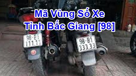 Cách đọc nhanh Biển Số Xe Máy và Ô Tô tỉnh Bắc Giang