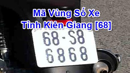 Cách đọc nhanh Biển Số Xe Máy và Ô Tô tỉnh Kiên Giang