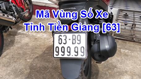 Cách đọc ký hiệu Biển Số Xe Máy và Ô Tô tỉnh Tiền Giang