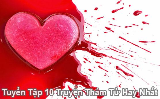 Top 10 truyện thám tử như chạm vào tim em làm rĩ máu